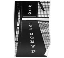 Large Dog Poster