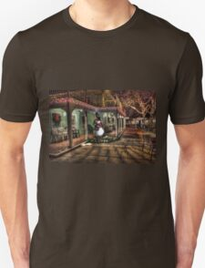Snowman Winter Scene T-Shirt