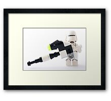 Say hello to my little friend! Framed Print