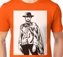 Clint Eastwood Sketch Unisex T-Shirt