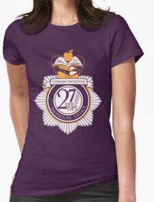 Literary Detective Womens Fitted T-Shirt