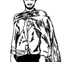 Clint Eastwood Sketch by berdozer