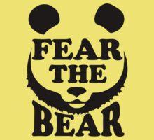 Fear the Bear- SF Giants  One Piece - Short Sleeve