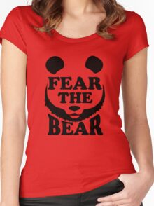 Fear the Bear- SF Giants  Women's Fitted Scoop T-Shirt