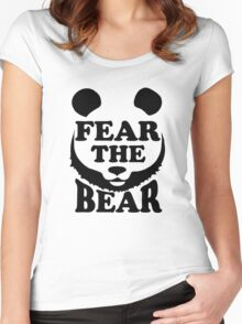 Fear the Bear- SF Giants  Women's Fitted Scoop T-Shirt