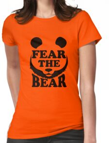 Fear the Bear- SF Giants  Womens Fitted T-Shirt