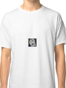 woodcut lady Classic T-Shirt