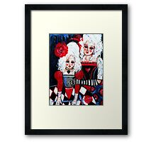 THE ROSE QUEENS Framed Print