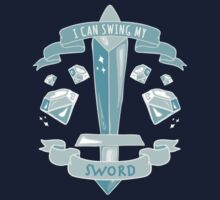 Diamond Sword - Tshirt by AshWarren