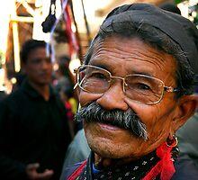 Nepalese Face  by Bal Krishna  Thapa Chhetri