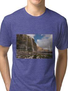 Temple bay, Glamorgan heritage coast Tri-blend T-Shirt