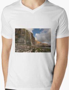 Temple bay, Glamorgan heritage coast Mens V-Neck T-Shirt