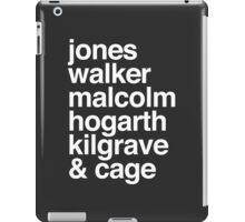 Jessica Jones characters iPad Case/Skin