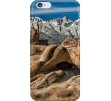Mt. Whitney & The Alabama Hills iPhone Case/Skin