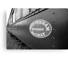 Heritage Railway Canvas Print