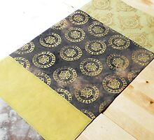Table Runner Yellow by Jenny Hogben