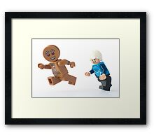 Run, run, run. As fast as you can... Framed Print