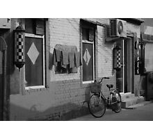 Beijing Barbershop Photographic Print