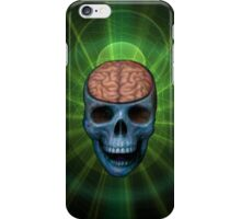 Happy Skull Brain  iPhone Case/Skin