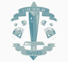 Diamond Sword - Sticker by AshWarren