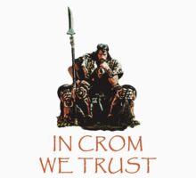 In Crom We Trust Kids Tee