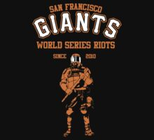 Giants Riots- SF Giants by spacemonkeydr