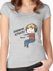 Chairmode Activate! - Tshirt Women's Fitted Scoop T-Shirt