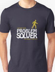 Not Your Problem Solver - Dark Version T-Shirt