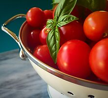 Cherry Tomatoes by umeimages