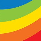 rainbow stripes by Kat Massard