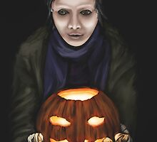 Halloween Guest by Michael Cunliffe