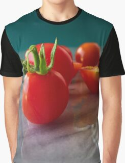 Fallen Cherry Tomatoes Graphic T-Shirt