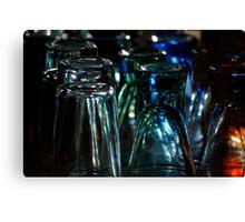 Life through rainbow glass Canvas Print