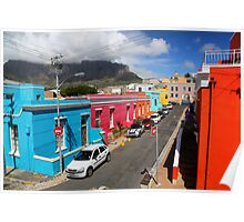 Colours of Bo-Kaap Poster