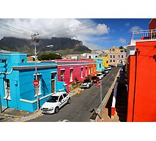 Colours of Bo-Kaap Photographic Print
