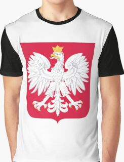 Coat of Arms of Poland Graphic T-Shirt