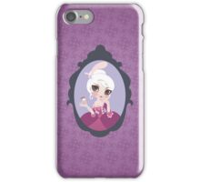 let them eat cupcake iPhone Case/Skin