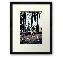 A quiet place somewhere... Framed Print