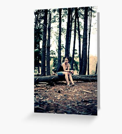 A quiet place somewhere... Greeting Card