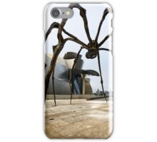 A Spider in Bilbao iPhone Case/Skin