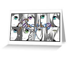 ToZ - Eyes Greeting Card
