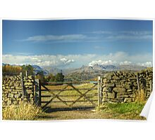 A Langdale View Poster