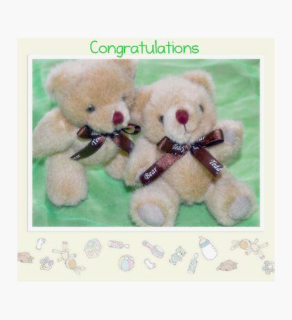 Twin Bears Photographic Print