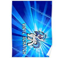 Vinyl Scratch Poster and Shirt Poster