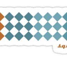 Squares Sticker