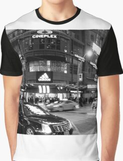 Nightlife in Toronto Graphic T-Shirt