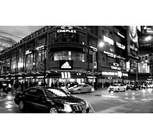 Nightlife in Toronto Photographic Print