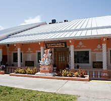 Neptune's Cocktail lounge in Freeport Grand Bahamas by Keith Larby
