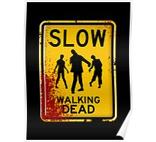 SLOW - WALKING DEAD Poster