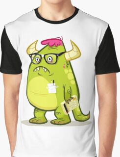Monster Nerd Graphic T-Shirt